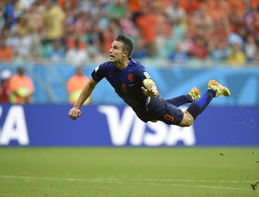 Van Persie World Cup Netherlands