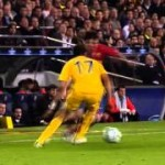 Feint movements from Messi