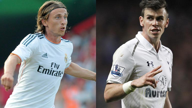 Bale and Modric Real Madrid