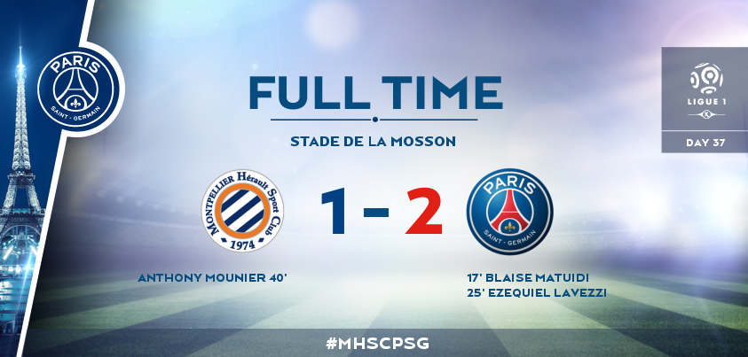 Final PSG vs Montpellier 2015