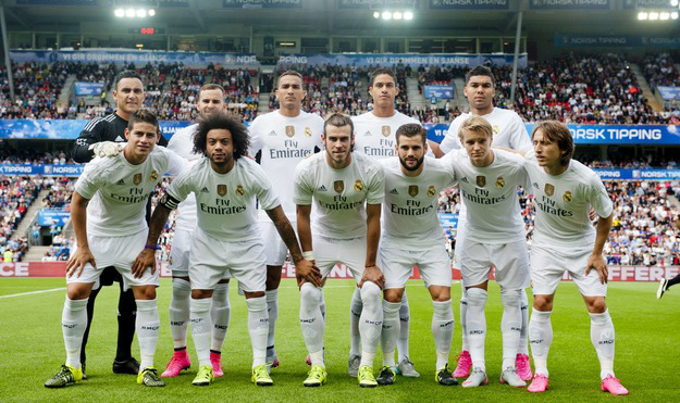 Real Madrid in Oslo 2015