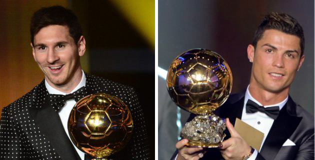 Messi & Ronaldo 2016 Ballon d Or