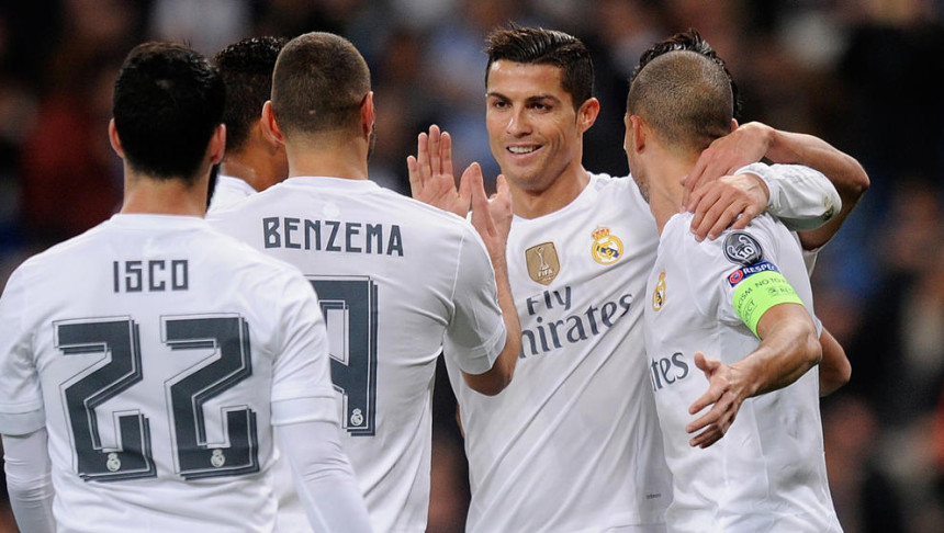 Real Madrid 8-0 Malmo FF 2015