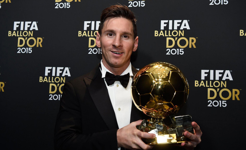Lionel Messi 2015 FIFA Ballon d' Or
