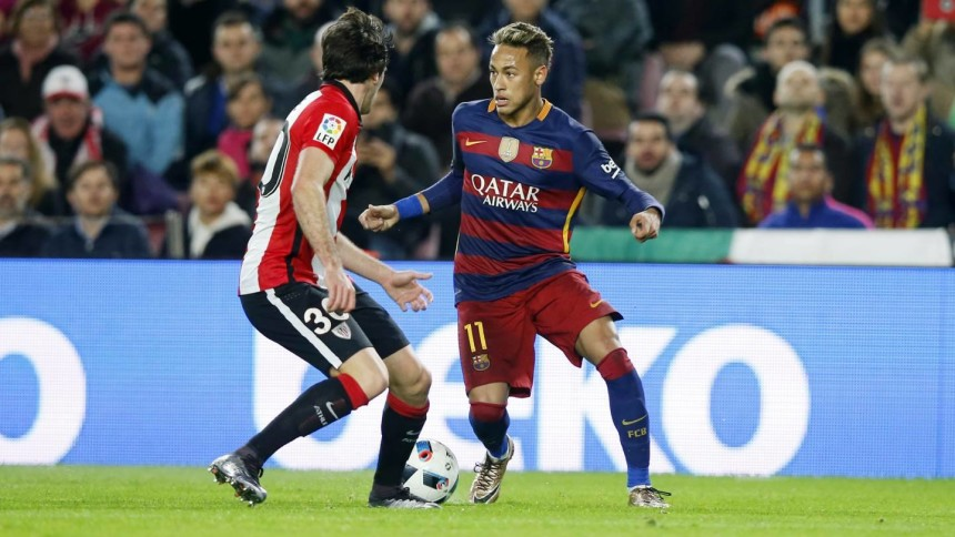 Neymar vs Athletic Bilbao Copa del Rey 2016