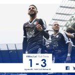 Leicester 3-0 win against Manchester City