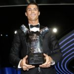 Cristiano Ronaldo Wins the Best Player in Europe award
