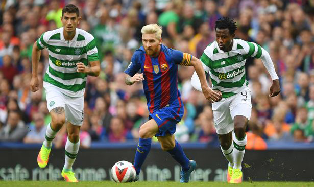 Messi vs Celtic 2-0