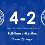 Leicester vs Manchester City 4-2