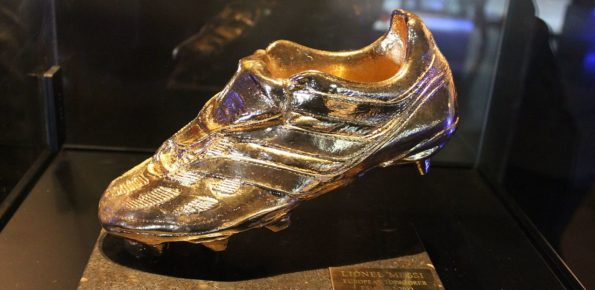 Golden Shoe Lionel Messi 2012-2013