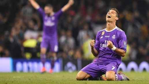 Ronaldo brace against Juventus