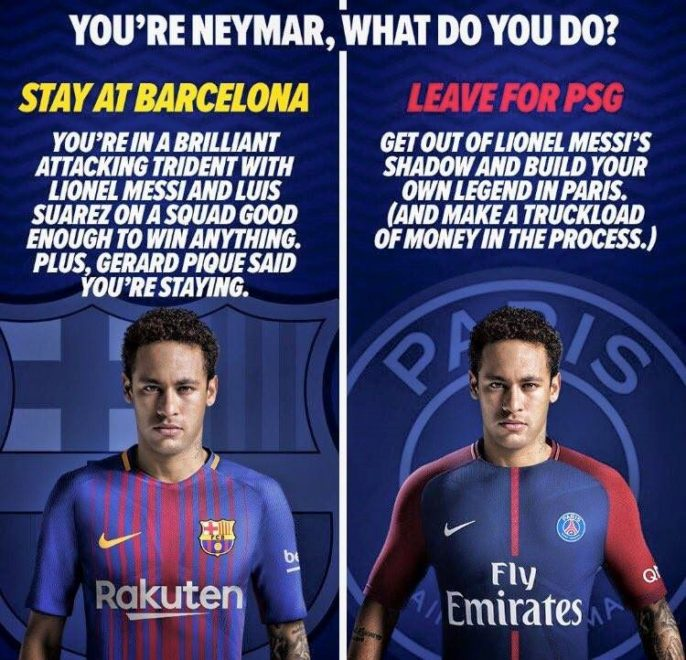 Pros and cons if Neymar moves to PSG