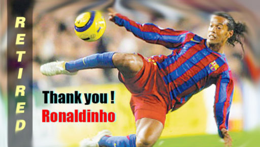 Ronaldinho retires from professional football